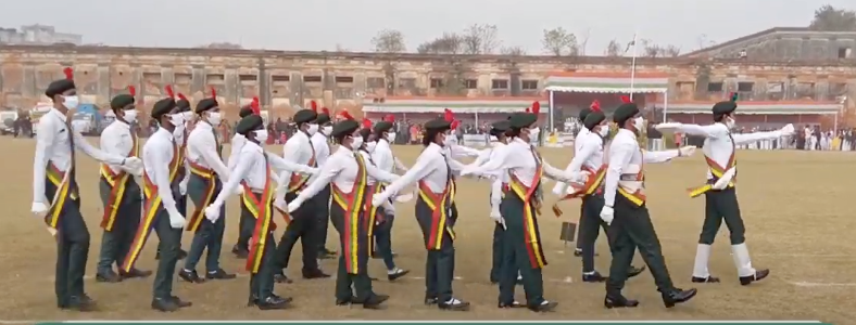 72nd Republic Day Celebration Parade at Stable Ground